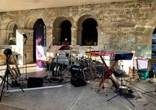 Tonaufnahme.ch - excellent live sound - Earl Grey & the Teacups, Klosterhotel, St.Petersinsel