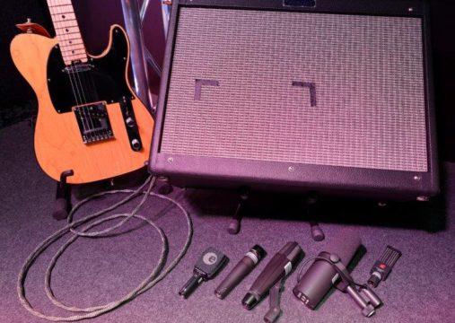 Tonaufnahme.ch - Instrumente - el. Guitar Amp - Gitarrren-Amp - welches Mikrofon passt?